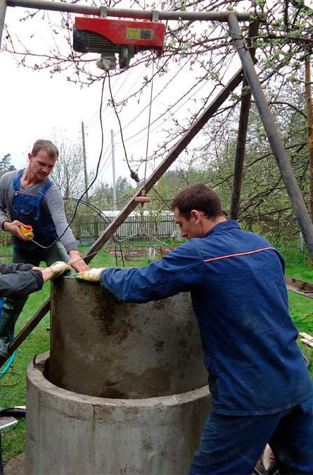 Как мы углубляем колодец в Наро-Фоминском районе