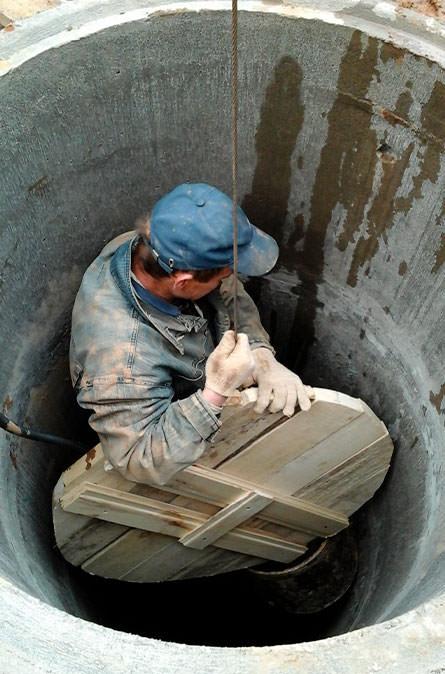 Как мы выполняем чистку колодца в Наро-Фоминском районе