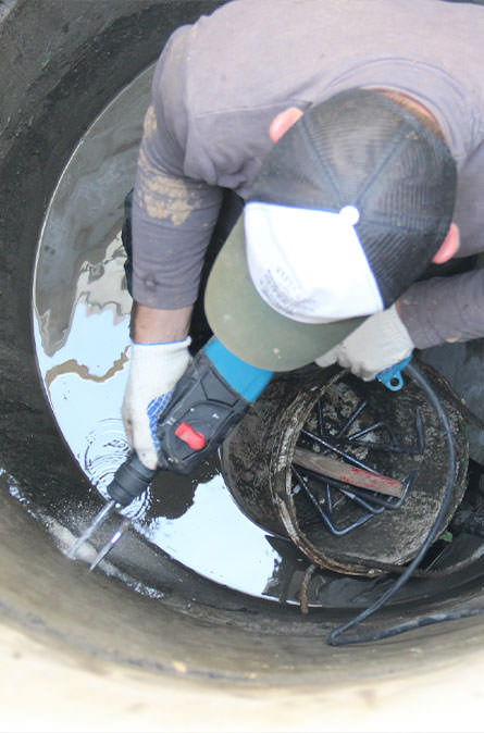 Как мы выполняем ремонт колодцев в Наро-Фоминском районе