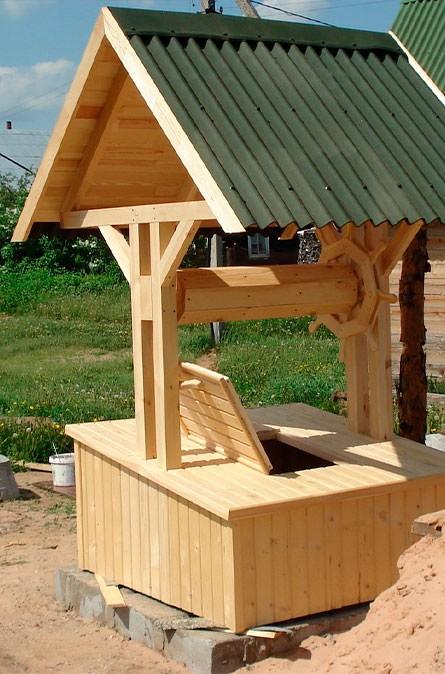 Какие у нас домики для колодца в Наро-Фоминском районе